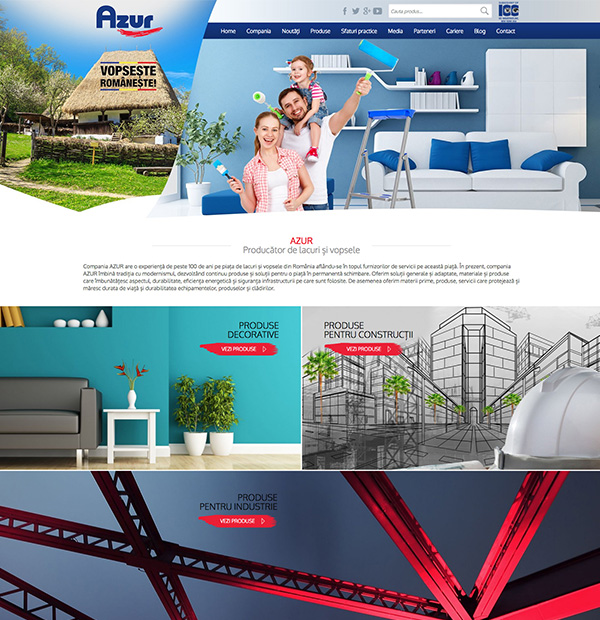Design site AZUR